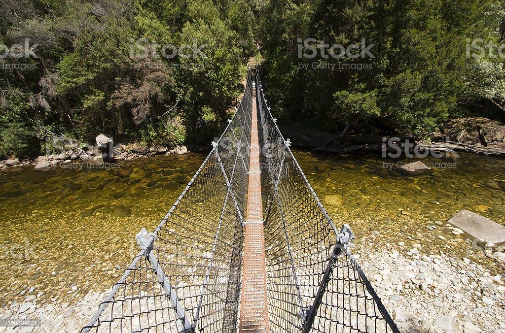 Franklin River Crossing stock photo