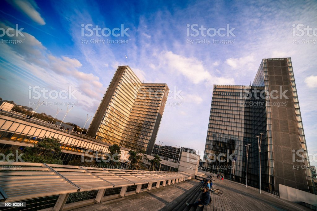 François Mitterand library - Royalty-free Architecture Stock Photo