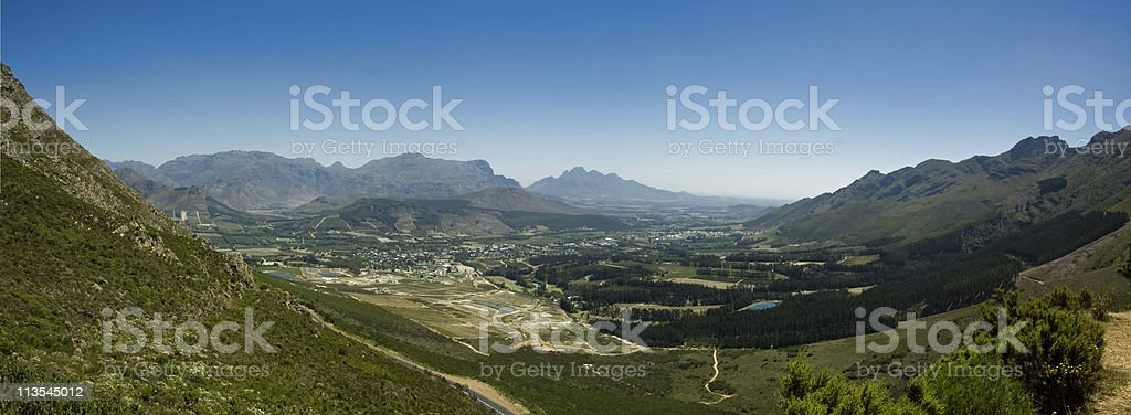 Franschhoek royalty-free stock photo