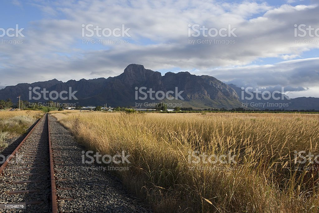 Franschoek royalty-free stock photo