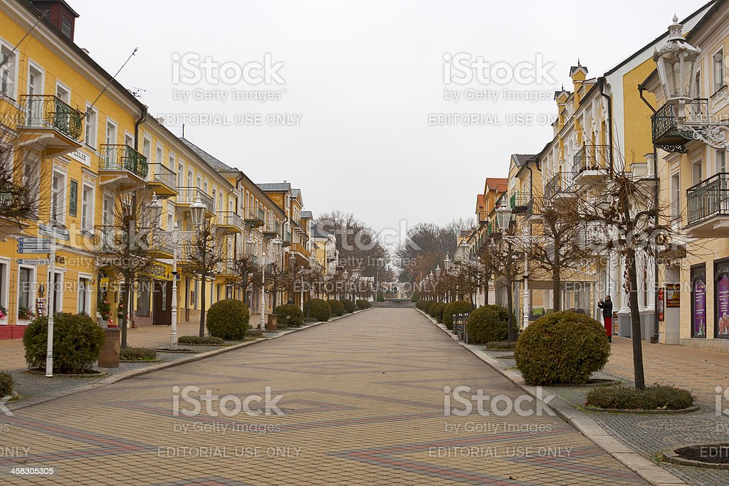 Frantiskovy Lazne in Czech Republic stock photo