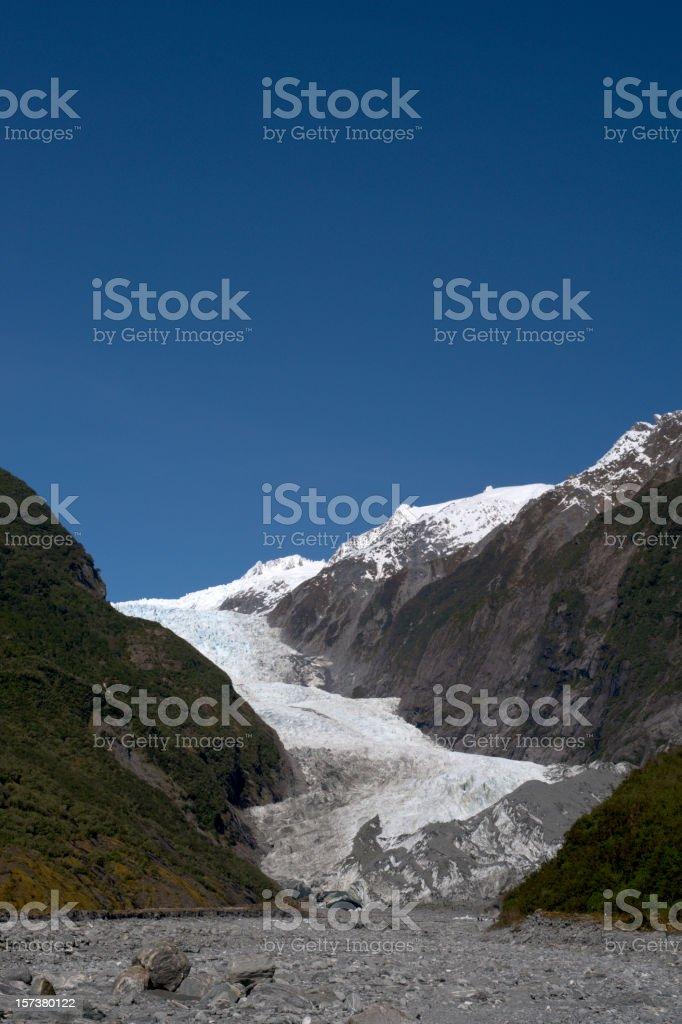 Franz Josef Glacier royalty-free stock photo