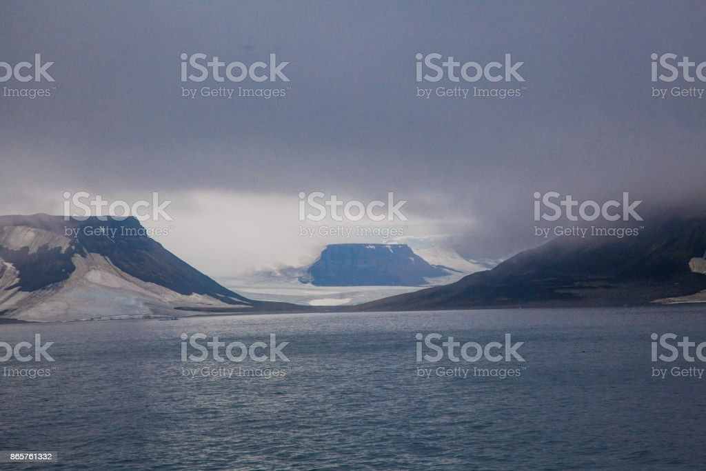 Franz Josef Land Archipelago, Russia stock photo