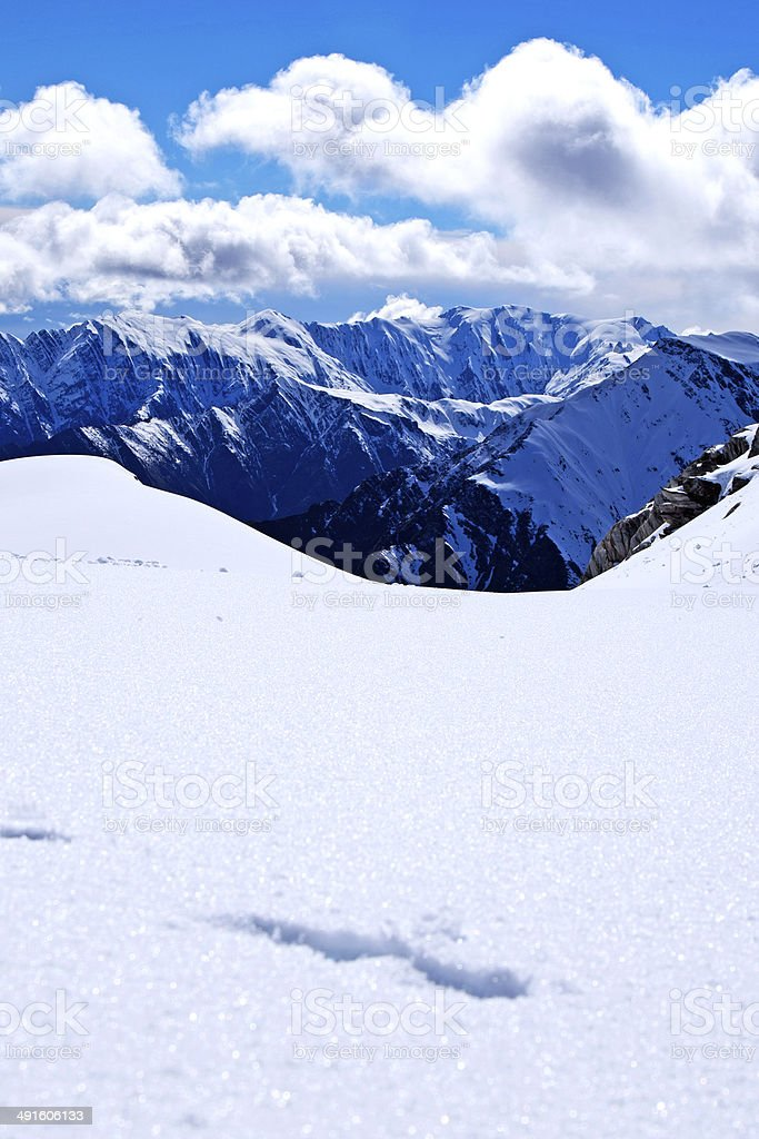 Franz Josef stock photo