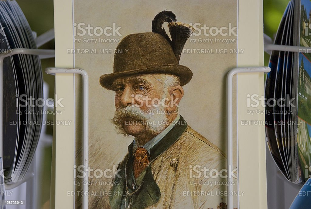 Franz Joseph I of Austria stock photo