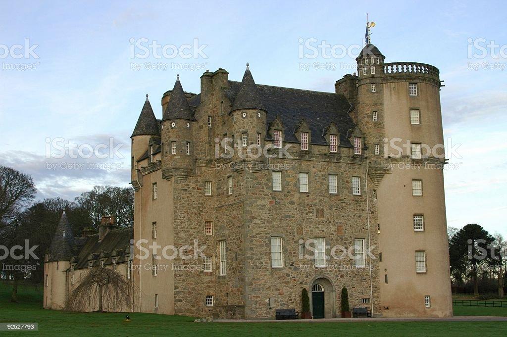 Fraser castle stock photo