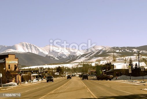 main highway through Fraser, CO