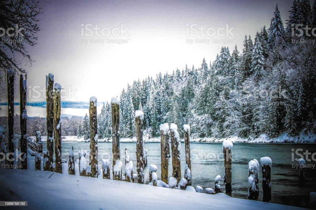 Fraser Valley stock photo