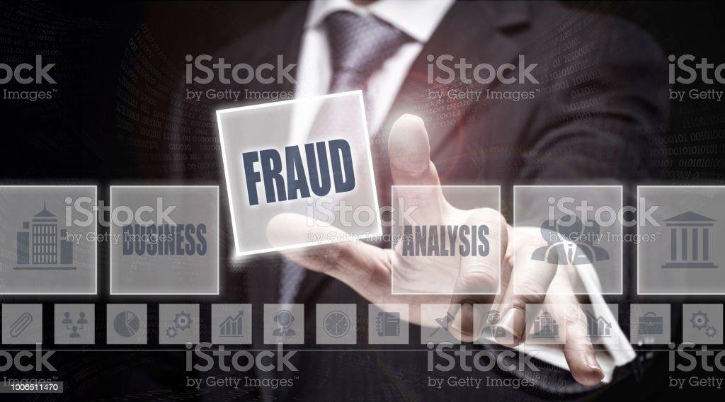 Concept de fraude - Photo