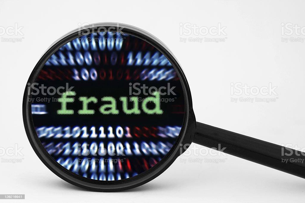 Fraud royalty-free stock photo