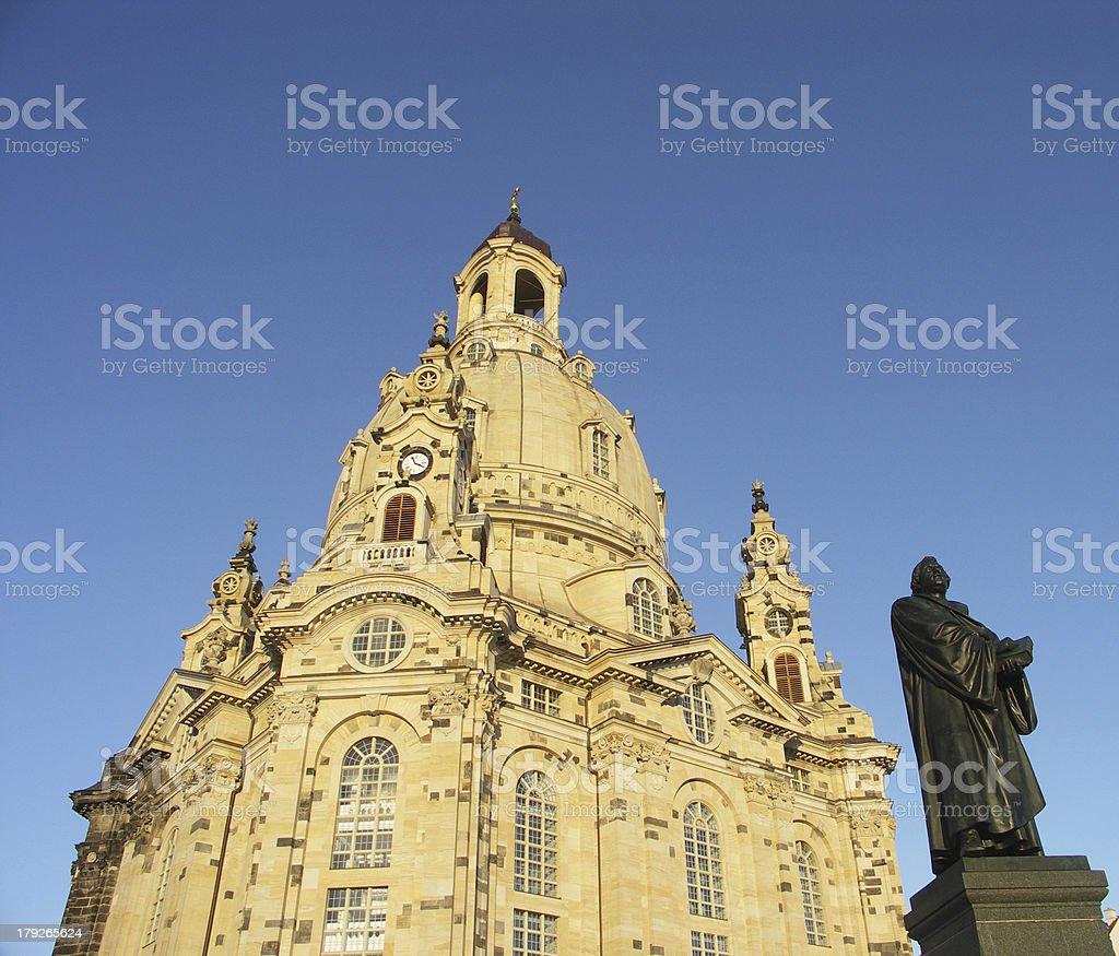 Frauenkirche Dresden stock photo