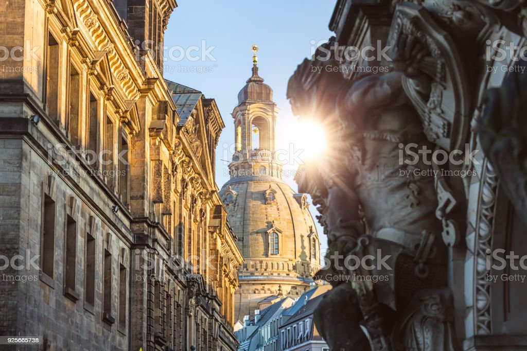 in Dresden Frauenkirche – Foto