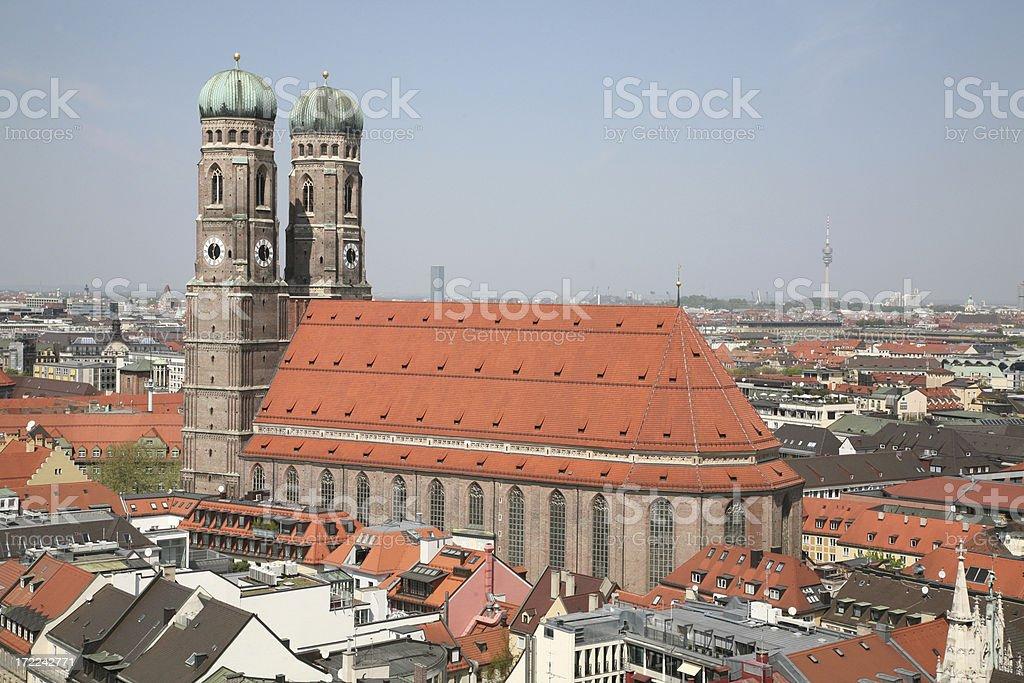 Frauenkirche in Munich, Germany royalty-free stock photo