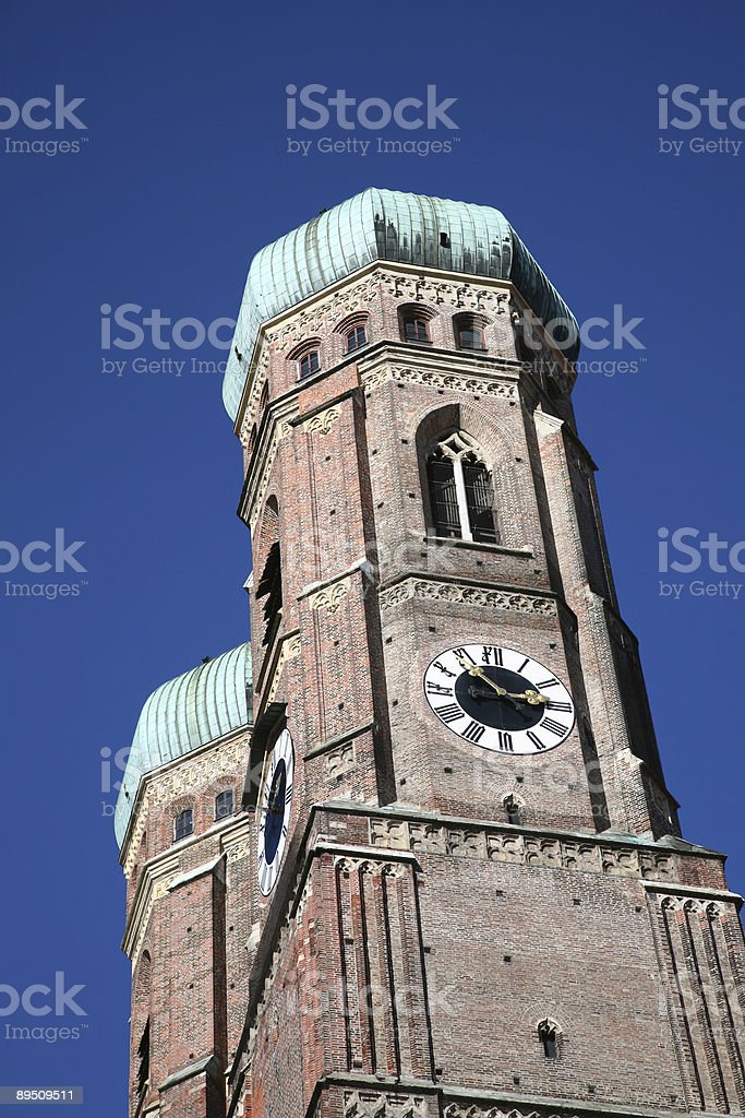 Frauenkirche in Munich, Germany royalty-free stock photo