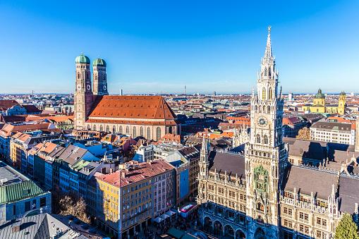 Frauenkirche in the Bavarian city of Munich