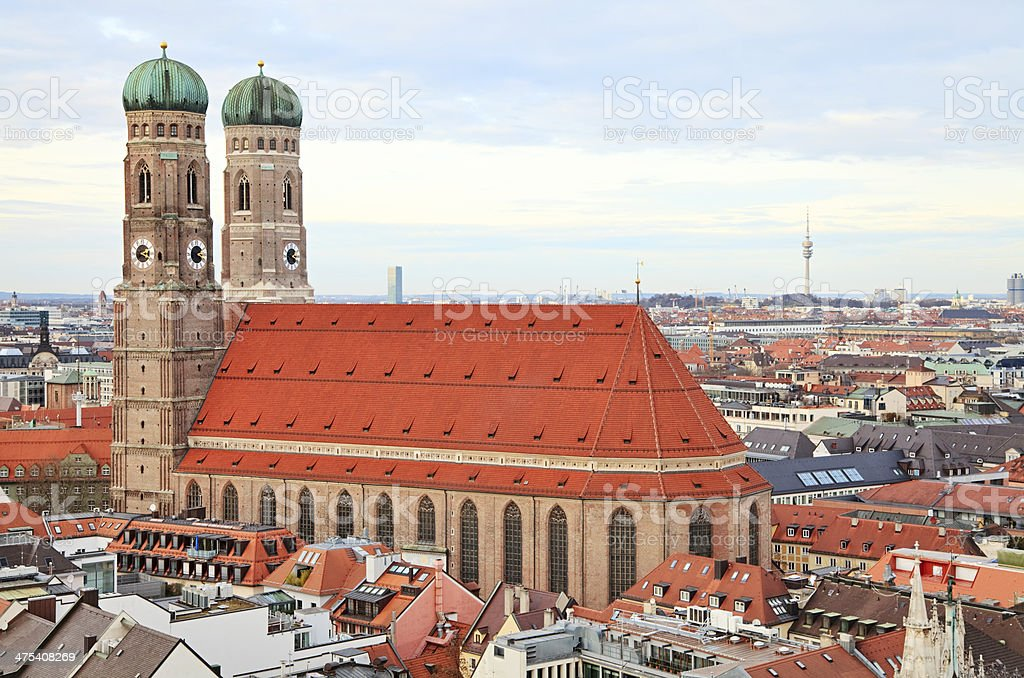 Frauenkirche, Munich stock photo