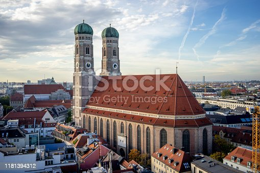 The Cathedral of Our Dear Lady in munich, Germany.