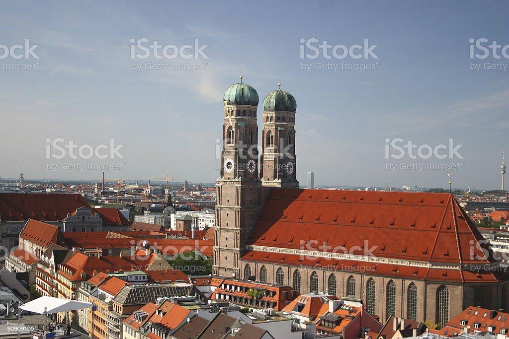 frauenkirche royalty-free stock photo