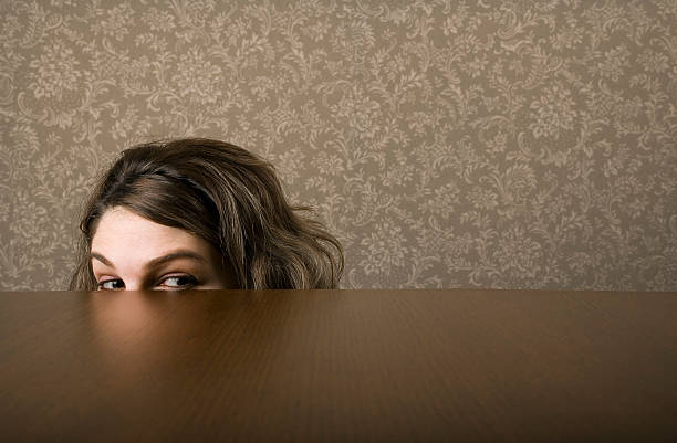 Freak girl Freak girl hide and seek stock pictures, royalty-free photos & images