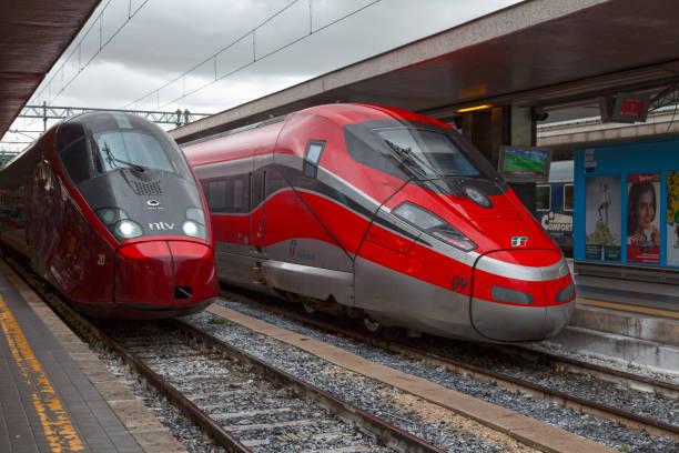 Frecciarossa und Alstom AGV Roma Termini – Foto