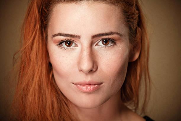 Freckled Schönheit – Foto