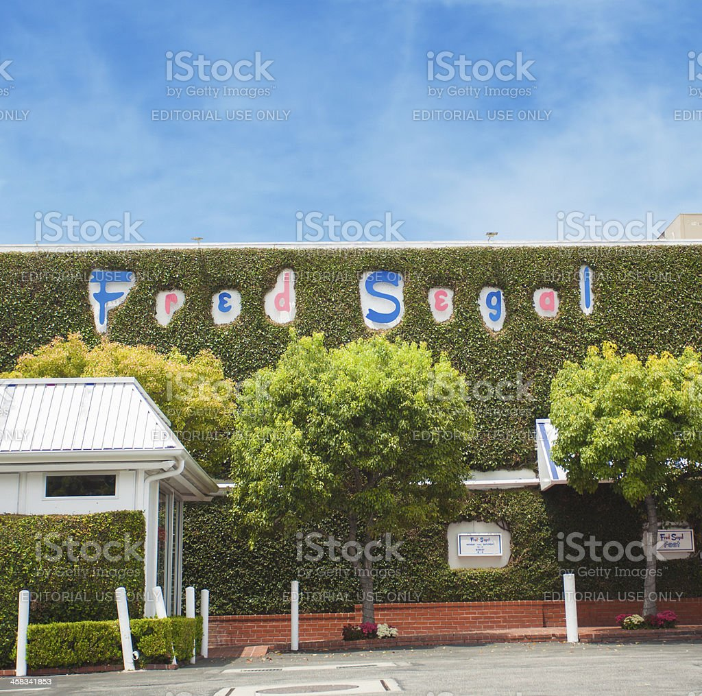 Fred Segal - Los Angeles royalty-free stock photo