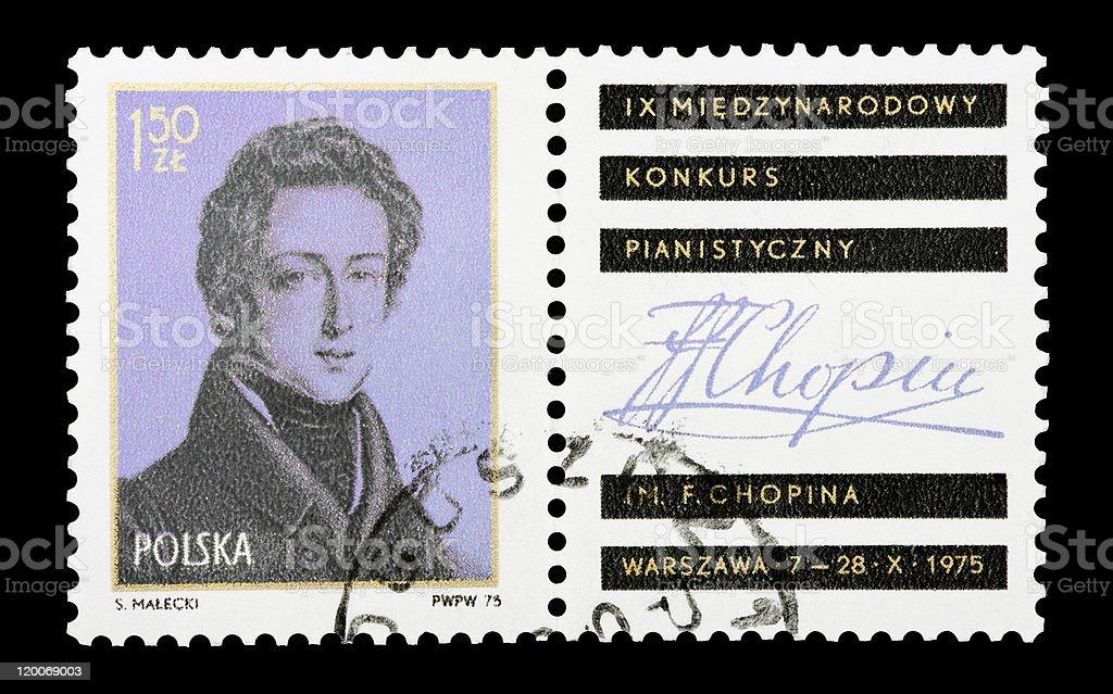 Frederic Chopin stock photo
