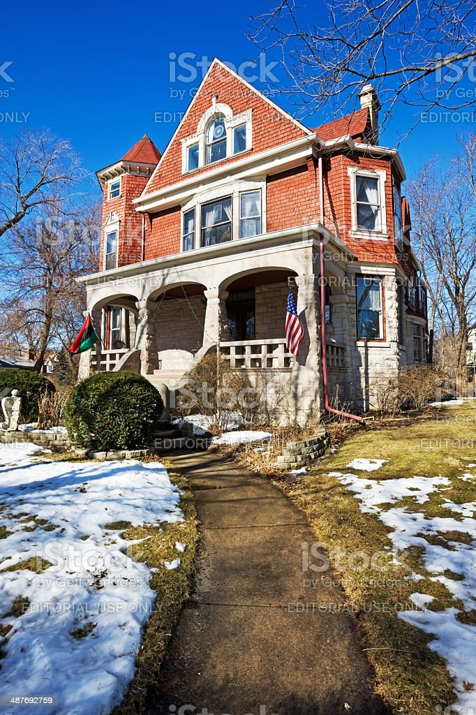 Frederick Beeson House, Chicago royalty-free stock photo