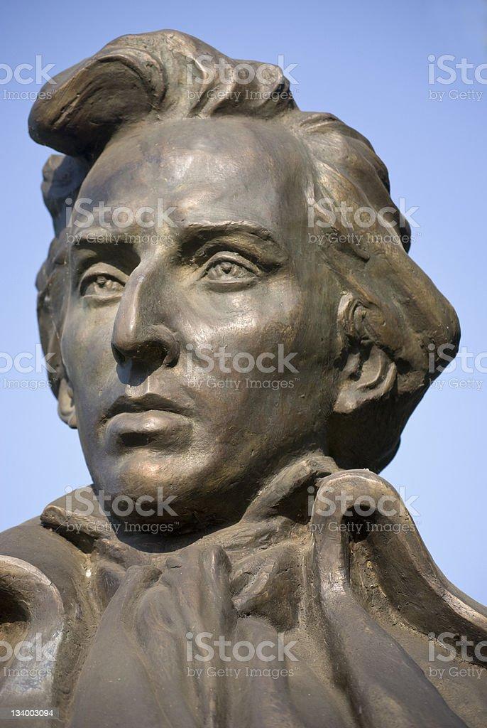 Frederick Chopin stock photo