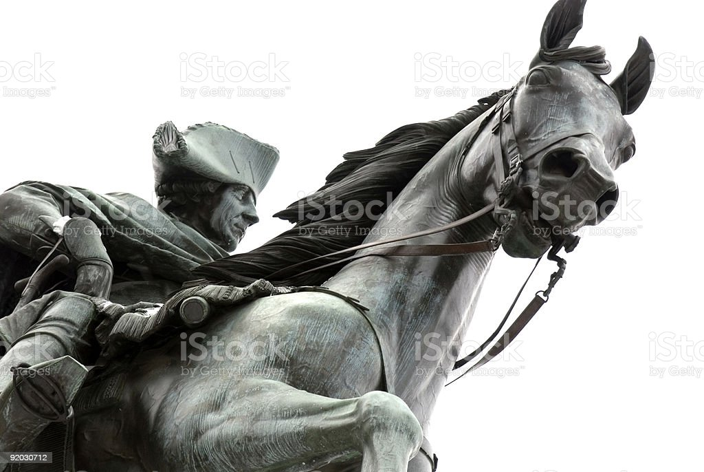Frederick the Great stock photo