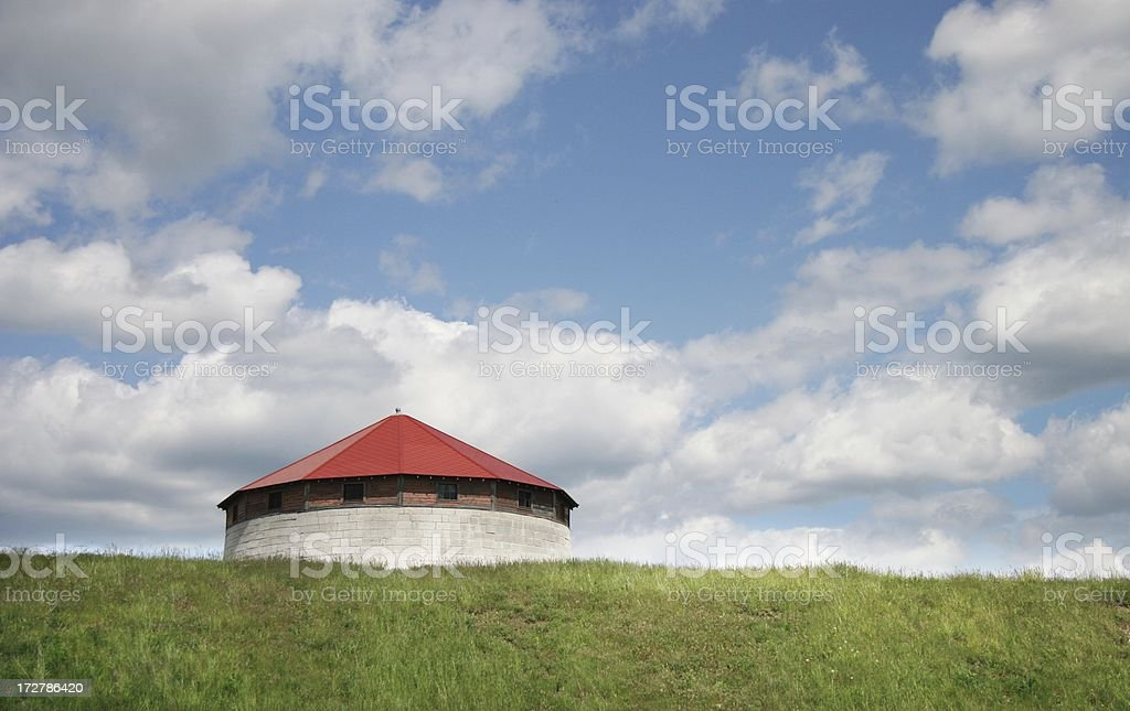 Frederick Tower, Kingson royalty-free stock photo