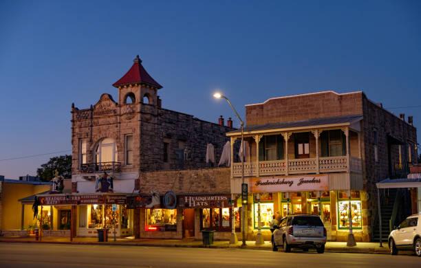 Fredericksburg, Texas, Innenstadt – Foto