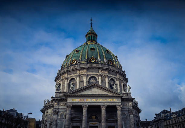 Frederik's Church in Copenhagen, Denmark stock photo