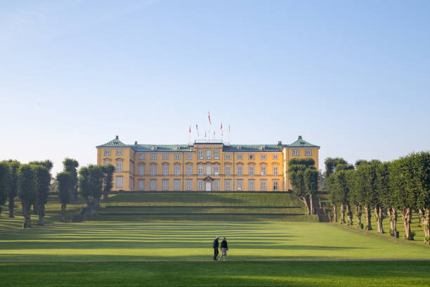 Frederiksberg Castle in Copenhagen stock photo