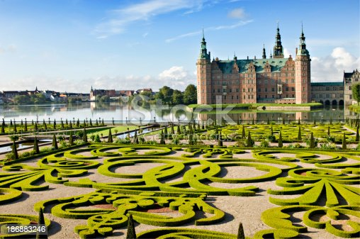 istock Frederiksborg Castle and Gardens, Hillerød Denmark. 186883246