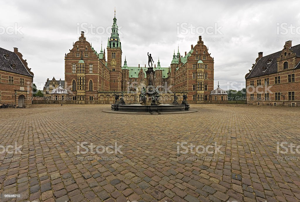 Frederiksborg Castle, Denmark royalty-free stock photo
