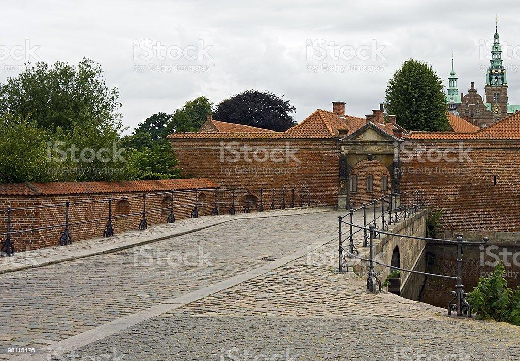 프레데릭스보르 성, Denmark royalty-free 스톡 사진