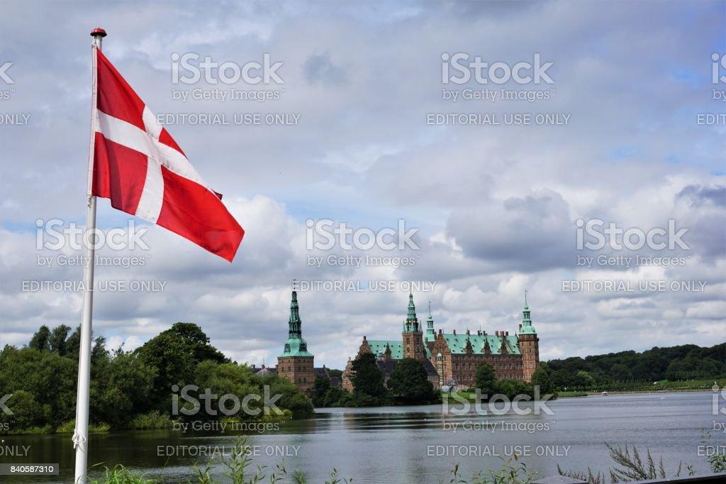 Castillo de Frederiksborg - foto de stock