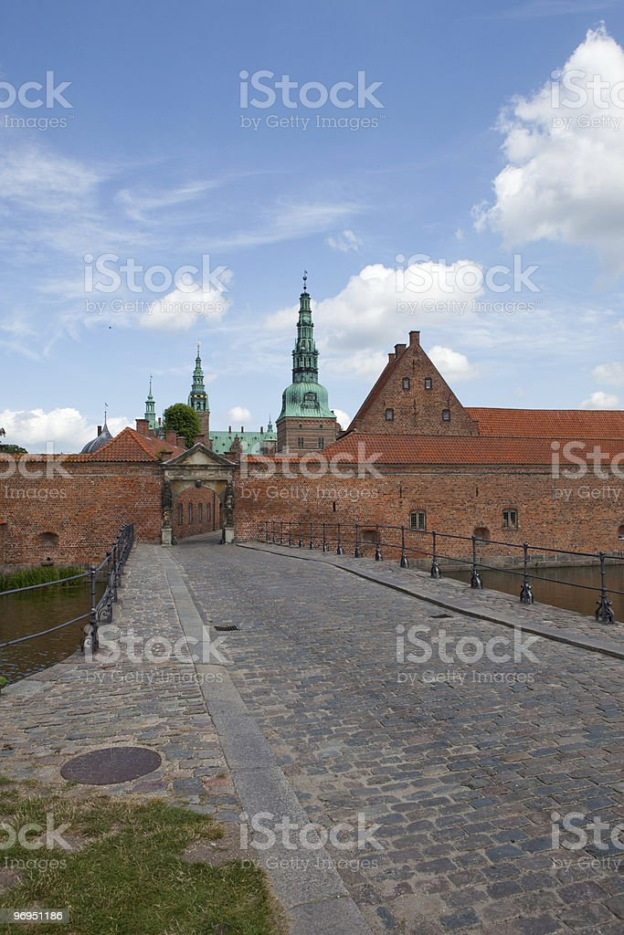 Frederiksborg Castle royalty-free stock photo