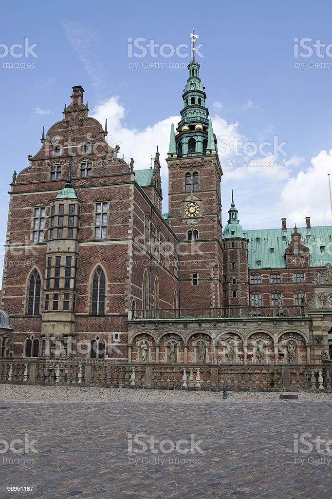 Frederiksborg Castle royalty-free stock photo