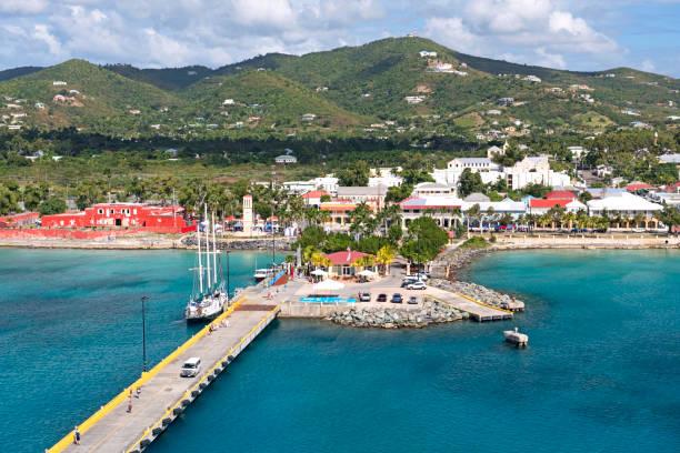 Frederiksted, St. Croix, US Virgin Island – Foto