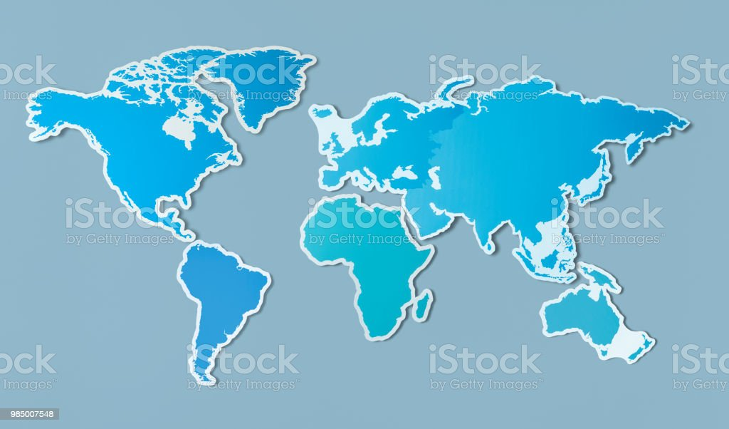 Free Blank Map Of Asia Stock Photo Download Image Now Istock