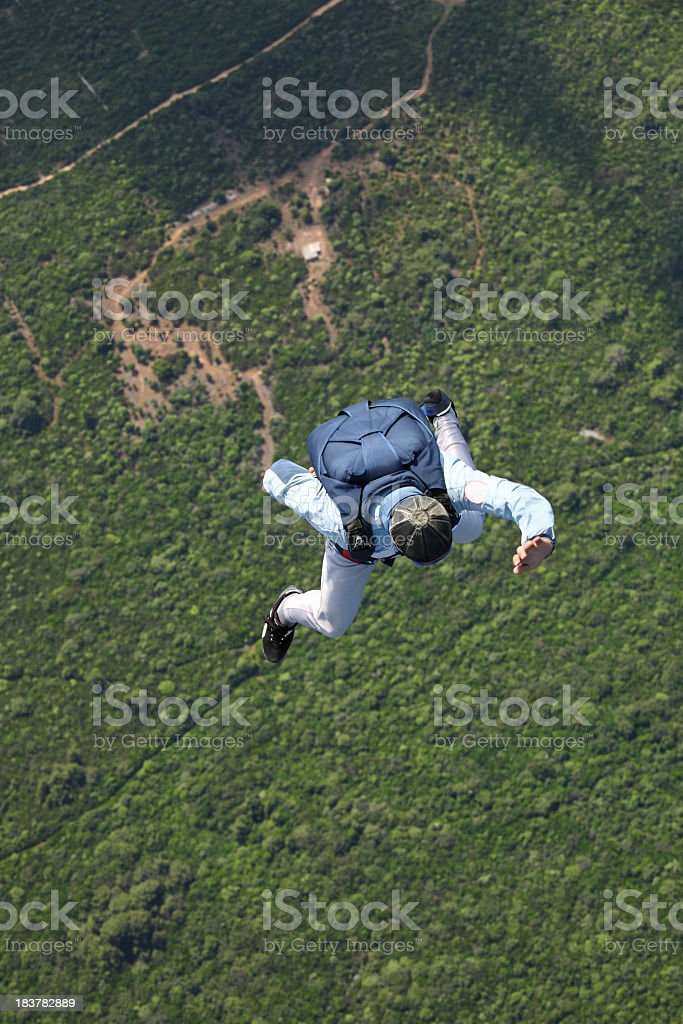 Free falling royalty-free stock photo