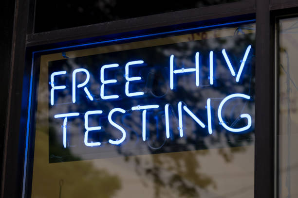 Free HIV Testing stock photo