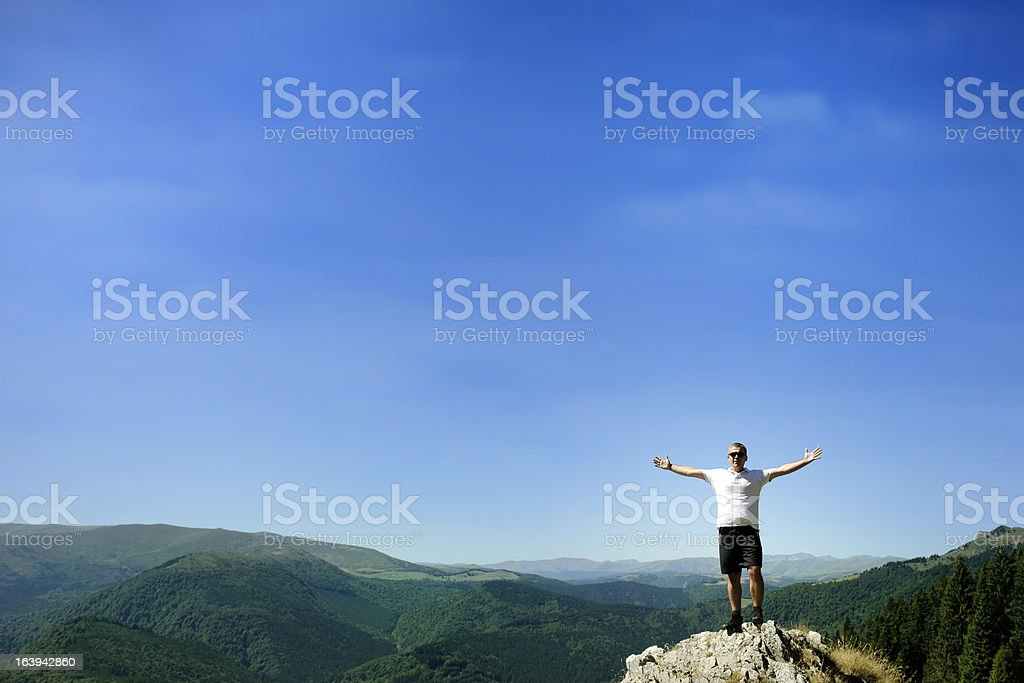 free man royalty-free stock photo