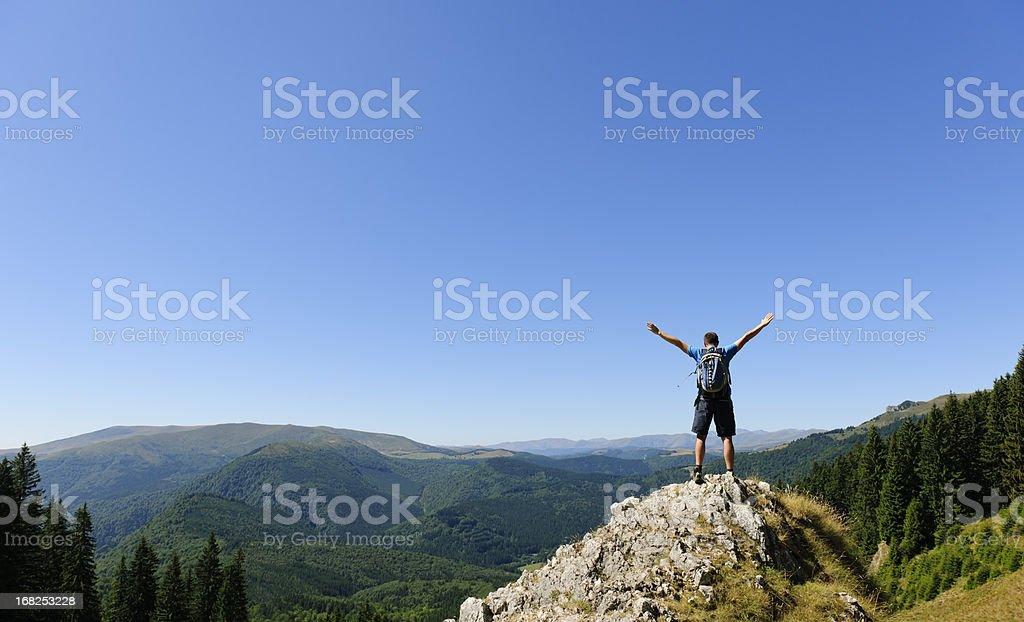 free on rock royalty-free stock photo