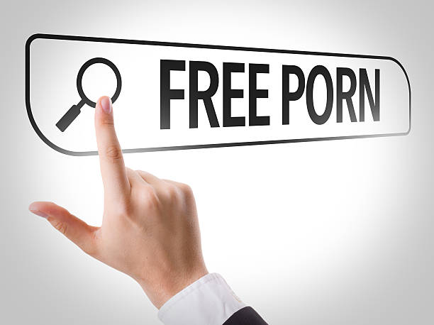 free porn written in search bar on virtual screen - free images for downloads stock photos and pictures