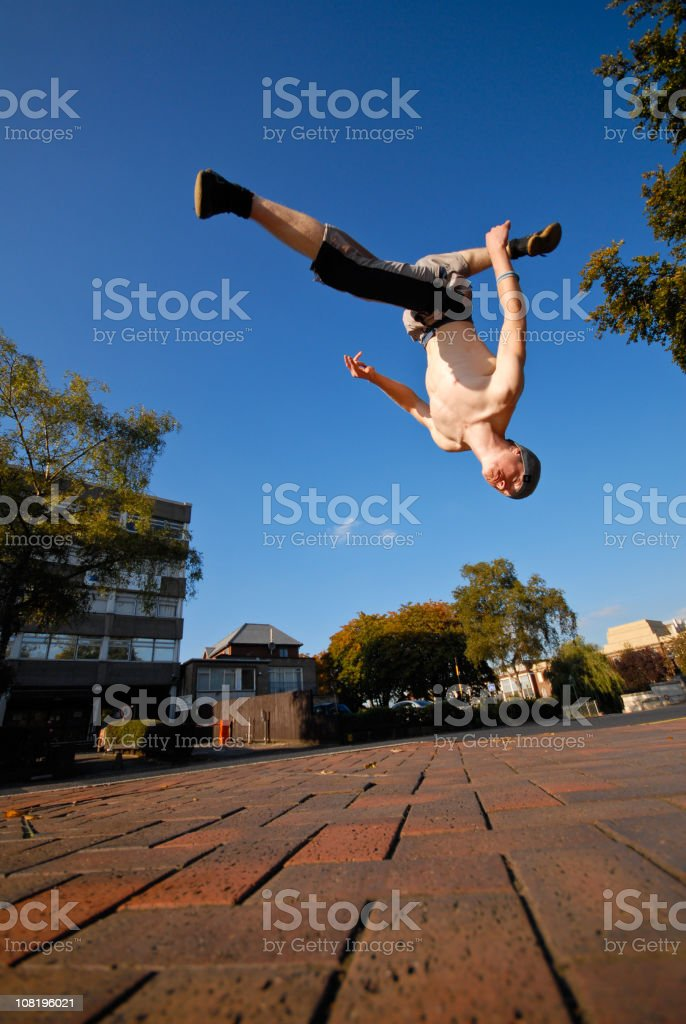 Free Running Flip royalty-free stock photo