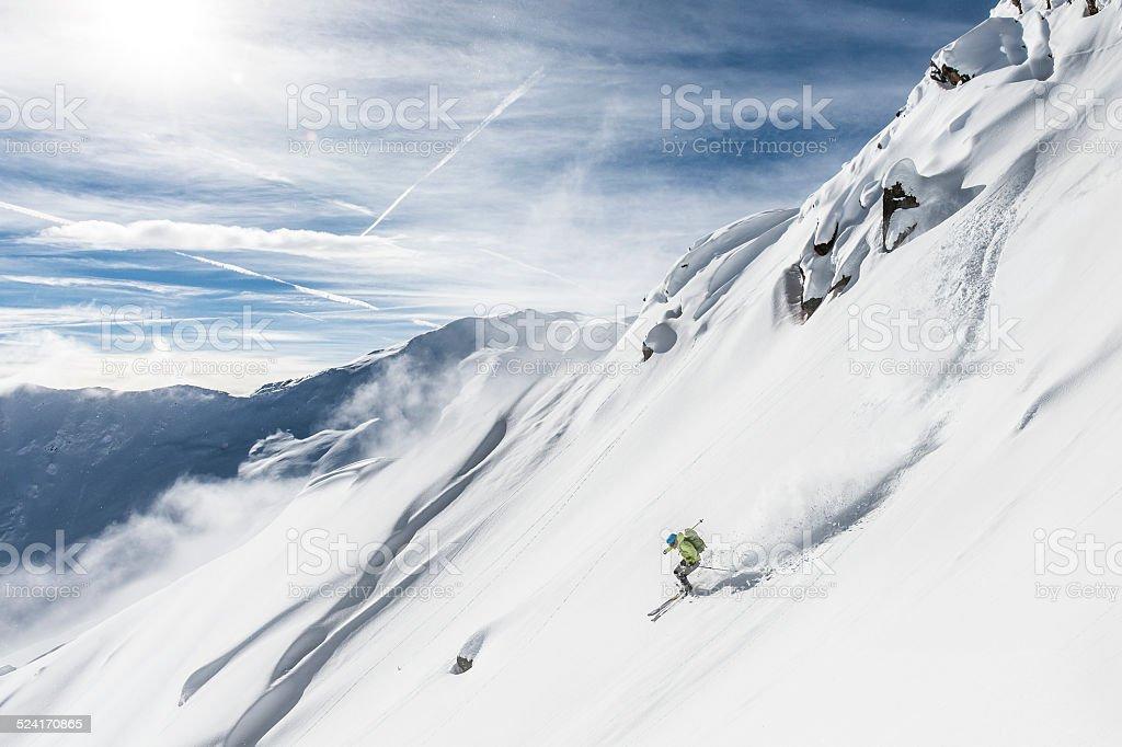 Kostenlos Skifahren Alpin – Foto