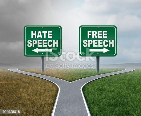 istock Free Speech And Hate 924928018